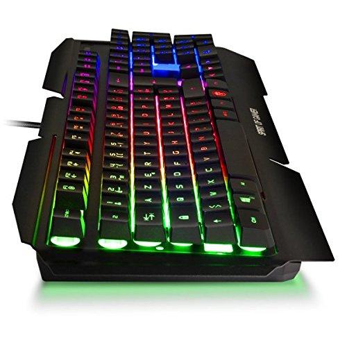 CAP WEB Pack Gamer Teclado Retro-éclairage Pro-k5 – Ratón LED Pro ...