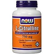 NOW 750mg L-Citrulline 90 Capsules