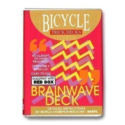 Le Jeu Brainwave Bicycle (Tarot rouge)