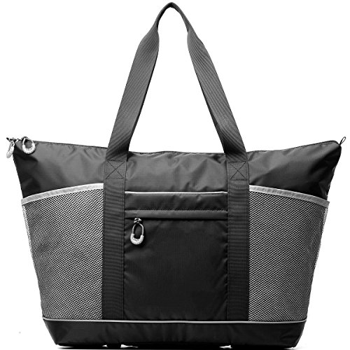 Top Gym Tote Yoga Bag Best for Men and Women with Roomy Pockets