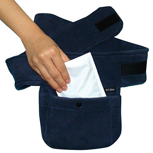 暖か朗 II (暖か朗継続品、遠赤外線放射性布採用)カラー ネイビー(紺色) 寒い冬の防寒対策・カラダポカポカ!冬の防寒、弱めの暖房対策に特許取得の防寒グッズ!