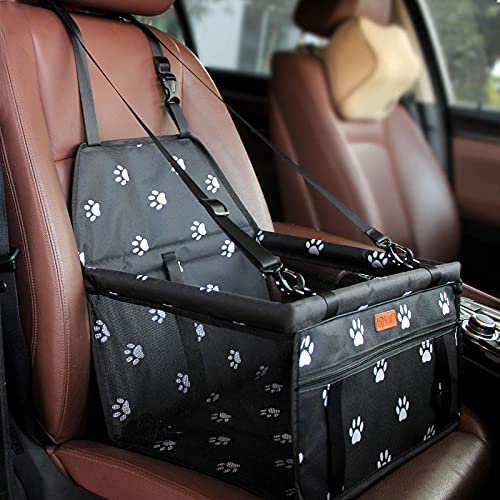 BYGD Coprisedile per Cani, Coprisedile Trasportabile Pieghevole Seggiolino Auto Posteriore Universale Sedile dell'Auto Indietro Animali Domestici