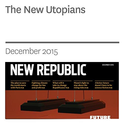 The New Utopians audiobook cover art