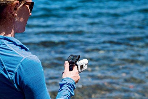 Sony FDRX3000R Kit de Cámara Action CAM 4K y Grip para Dedo AKAFGP1, Blanco/Negro