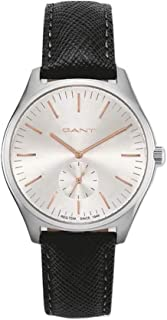Gant Sevenhill Men's Silver Dial Leather Band Watch - G GWW062001