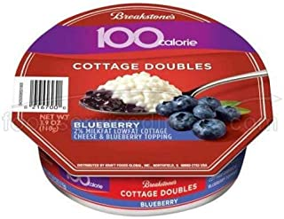 Breakstone Blueberry Cottage Double Cheese, 3.9 Ounce -- 12 per case.