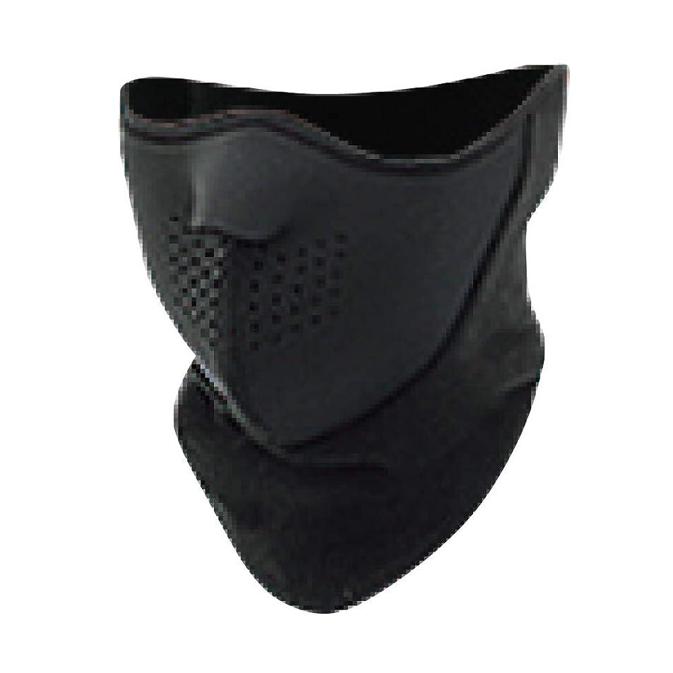 株式会社ささいなロードハウスおたふく手袋(OTAFUKU GLOVE) フェイスマスク フリース付 ブラック B-92