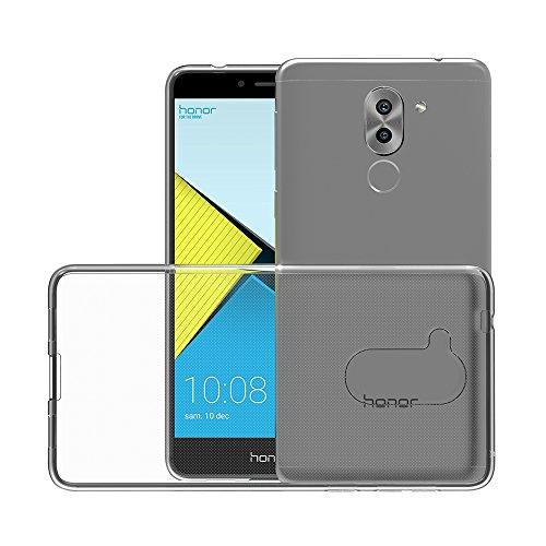AICEK Honor 6X Hülle Case, Ultra-Clear Huawei Honor 6X Case Silikon Soft TPU Crystal Clear Premium Durchsichtig Handyhülle Schutzhülle Case Backcover Bumper Slimcase für Honor 6X (5,5 Zoll) - 2