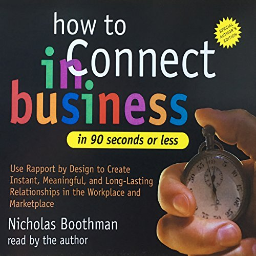 How to Connect in Business in 90 Seconds or Less Titelbild