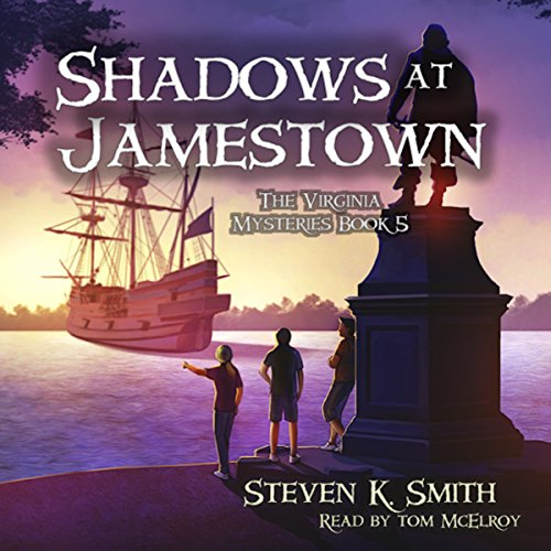 Shadows at Jamestown audiobook cover art