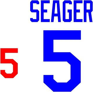 Corey Seager Los Angeles Dodgers Jersey Number Kit, Authentic Home Jersey Any Name or Number Available