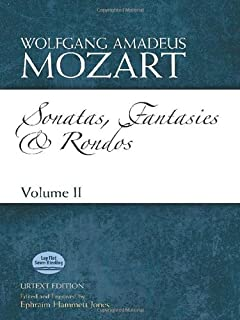Sonatas, Fantasies and Rondos Urtext Edition: Volume II (Dover Classical Music for Keyboard and Piano Four Hands)