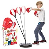 Whoobli Punching Bag for Kids Incl Boxing Gloves | 3-8 Years...