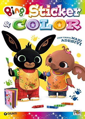 Grandi amici. Sticker & color. Bing. Activity book. Con adesivi. Ediz. a colori