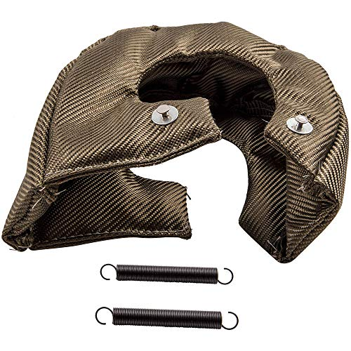 Heat Shield Blanket Cover Wrap for T6 Inlet Turbo S400 S475 S480 Turbocharger