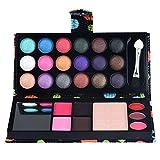 Ombre à paupières multicolore, pour 26 couleurs Palette de maquillage pour fards à paupières cosmétique Fard à paupières brillant poudre