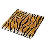 Toallas de Mano con diseño de Tigre Paños de Limpieza de Microfibra Toalla de Secado rápido de Manos Toalla para Platos Toallitas para