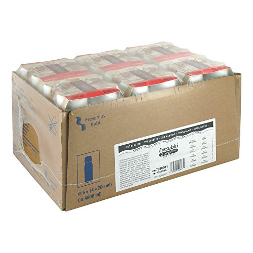 Fresenius Kabi Fresubin 2 kcal fibre Drink Schokolade Trinkflasche, 24 x 200 ml, 1er Pack (1 x 5,5 kg)