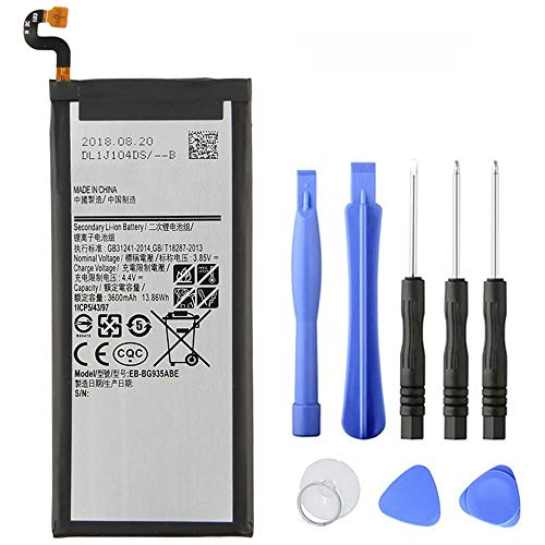 XITAI 4.4V 3600mAh EB-BG935ABE EB-BG935ABA Repuesto Batería para Samsung GALAXY S7 Edge G9350 G935FD SM-G935F With Tools