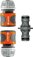 """Gardena koppelingsset: Slangkoppeling voor slangverlenging 13 mm (1/2"""") en 15 mm (5/8""""), ook onder hoge waterdruk, eenvoud..."""
