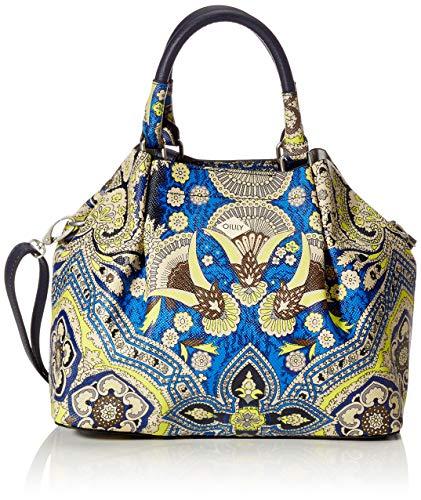 Oilily Orient Handbag Svf - Borse a secchiello Donna, Blu (blue), 13x22x26 cm (B x H T)