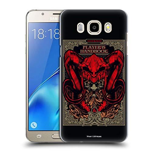 Head Case Designs Offizielle Dungeons & Dragons Handbuch der Spieler Hydro74 Kunstwerk Harte Rueckseiten Huelle kompatibel mit Samsung Galaxy J5 (2016)