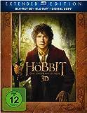Bluray 3D Charts Platz 3: Der Hobbit: Eine unerwartete Reise - Extended Edition 3D/2D (5 Discs)