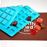 Truffly Made.Chocolate Mold - Rectangle Caramel Candy Silicone Mold for Chocolate Truffles, Ganache,...