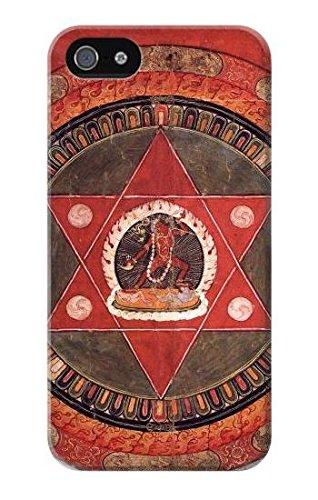 Tibetan Mandala of The Naropa Tradition Funda Carcasa Case para iPhone 5 5S SE