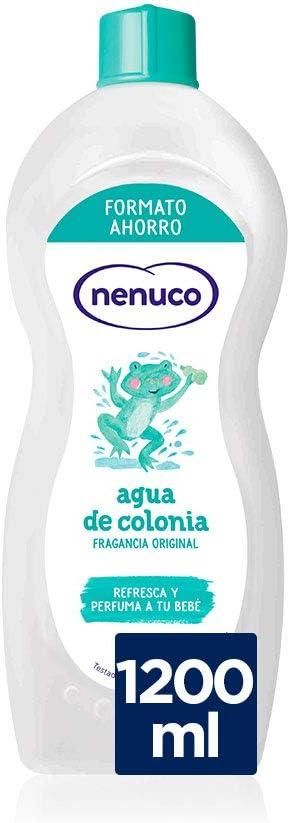 Nenuco Agua de Colonia recomendado para Bebés Recién Nacido (A partir de 3 meses) Fragancia Original - 1200 ml