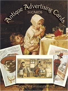 antique advertising cards