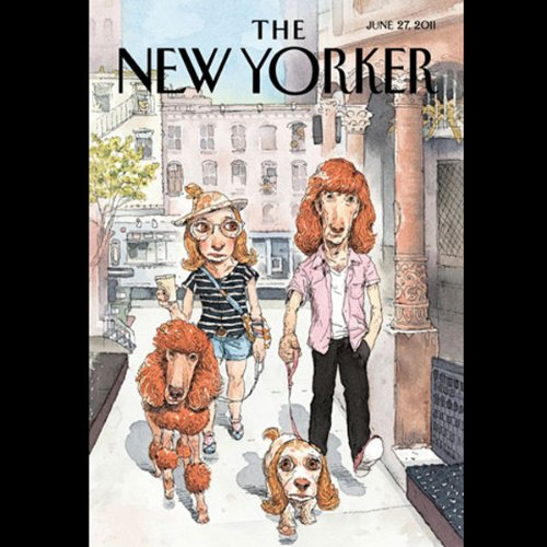 The New Yorker, June 27th, 2011 (Margaret Talbot, Rebecca Mead, Alice Munro) cover art