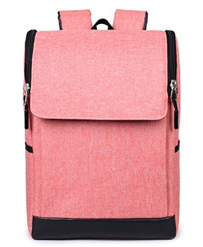 beibao shop Backpack Sacs à Dos pour Ordinateur Portable Commerce Casual Anti-vol Épaule Extérieur Voyager Multi-Fonctionnel Sac à Dos d'ordinateur, Pink