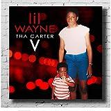 Posters Lil Wayne Tha Carter V Musikalbum Cover Art Druck