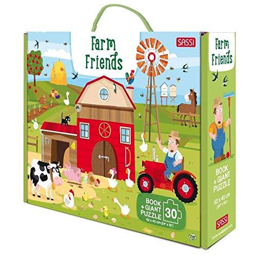 Farm friends. Ediz. a colori. Con puzzle (Sassi junior)