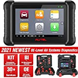 Autel DS808K Automotive Scan Tool - MaxiDAS DS808 Kit Vehicle Diagnostic and Maintenance Tablet [Same as MaxiSys MS906], Bi-Directional Control, 30+ Services, Oil Reset/ EPB/ ABS Bleed/ SRS/ SAS/ DPF