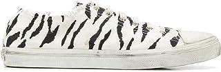 Luxury Fashion   Saint Laurent Men 6024621OD009074 White Cotton Sneakers   Spring-summer 20