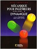 Dynamique mecanique pour ingenieurs vol2 (CHENELIÈRE ÉDITIONS)
