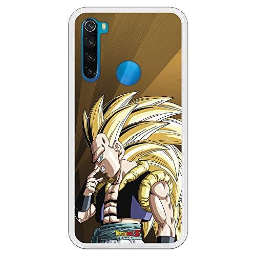 Personalaizer Funda para Xiaomi Redmi Note 8 - Dragon Ball y Sus Amigos Frikis (Dragon Ball Z Gotenks SS3)