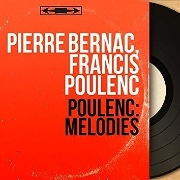Poulenc: Mélodies (Remastered, Mono Version)
