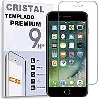 REY Protector de Pantalla para iPhone 7 / iPhone 8 / iPhone SE 2020, Cristal Vidrio Templado Premium