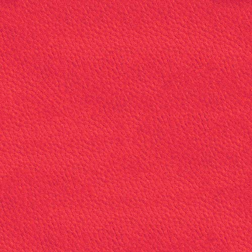 Deshome Marika – Tela por metros de microfibra efecto Nabuk, altura de 140 cm, para decoración de sofás, sillones, asientos y asientos, puf (rojo, 10 metros)