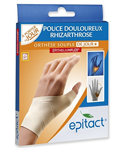 Epitact Supple Proprioceptive Orthosis Painful Thumb Left Hand - Size : Size M by Epitact