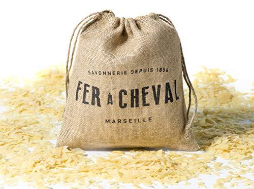 Fer à Cheval - Véritable Copeaux de Savon de Marseille Végétal (Contient de l'Huile de Palme) - 750g