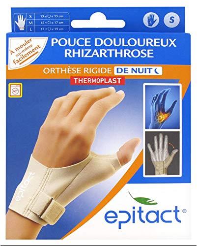 Epitact Orthèse Rigide de Nuit Pouce Douloureux Main Gauche - S
