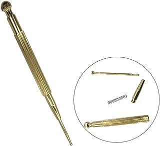 WESEEDOO Pluma de acupuntura Detector de Punto de Dolor de Pluma de Masaje de energía de acupuntura con Herramientas de acupuntura sin Agujas (Oro)