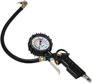 Sangmei Ferramenta de diagnóstico do testador do medidor de pressão do pneu do carro do automóvel do veículo 0-220PSI 0-16...