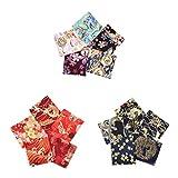 F Fityle 15er/Pack Japanische Stil Baumwolle Stoffe