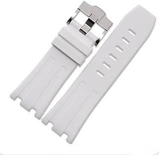 28mm Rubber Watch Strap Band OEM Style for AP100 Audemars Piguet Royal Oak Offshore Multi Camo Color