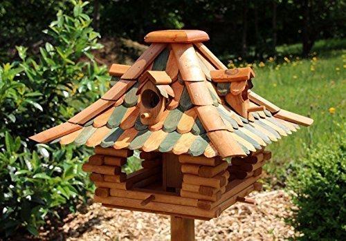 Vogelfutterhaus Größe